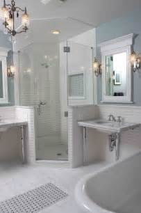 Bathroom Tile Ideas Houzz by Vintage Bathroom Traditional Bathroom Chicago By