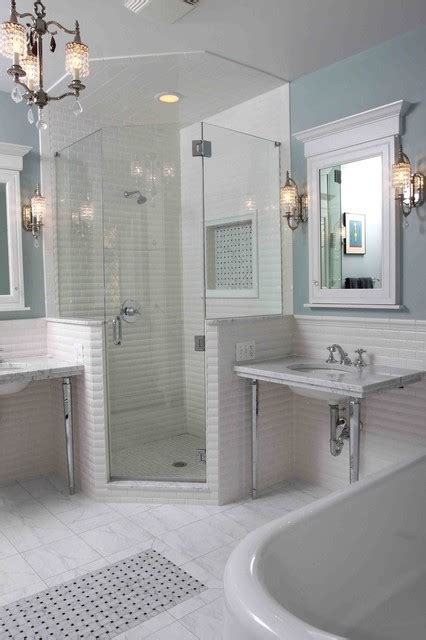 Houzz Bathroom Designs by Vintage Bathroom Traditional Bathroom Chicago By