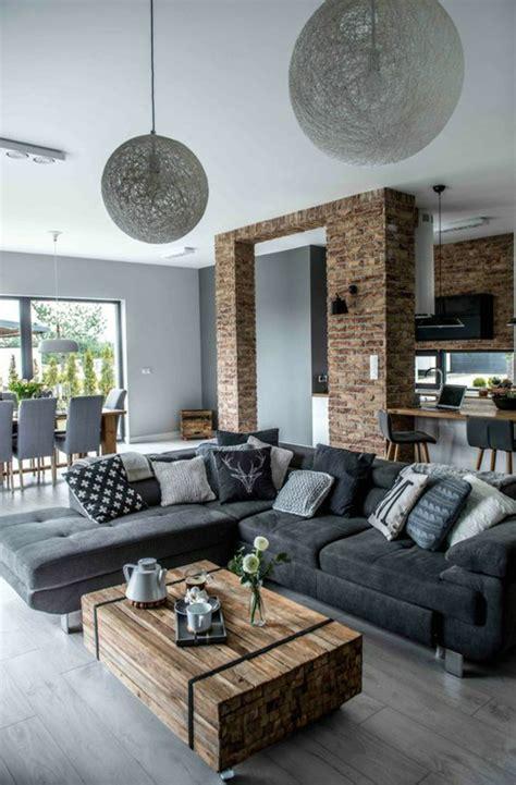 Deco Salon Moderne by 1001 Conseils Et Id 233 Es Pour Am 233 Nager Un Salon Rustique