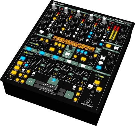 Mixer 4 Channel behringer digital pro ddm4000 5 channel dj mixer pssl
