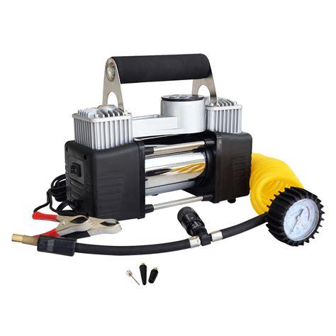 12v air compressor tyre deflator inflator 4wd 4x4 car truck compact portable ebay