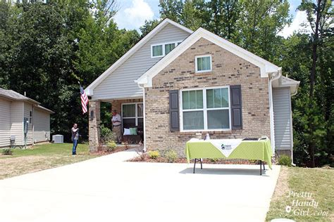 day 5 reveal of the habitat for humanity house end