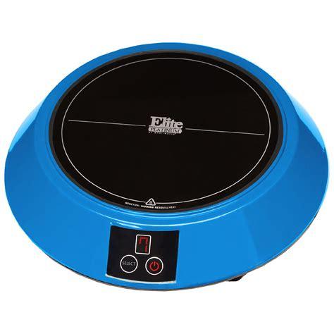 mini induction cook elite platinum mini induction cooker blue appliances small kitchen appliances countertop