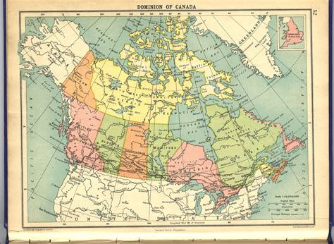 canadian map with latitude and longitude canada 1922 metadata