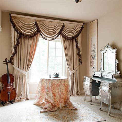 bedroom swag curtains 1000 images about curtains on pinterest