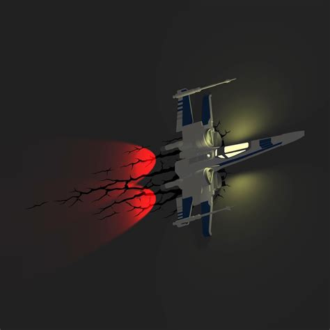 Star Wars 3d Wall Lights Merchoid