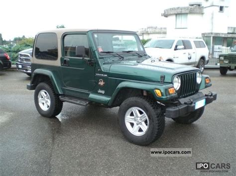 2000 Jeep Wrangler Automatic 2000 Jeep Wrangler Tj Automatic Car Photo And Specs