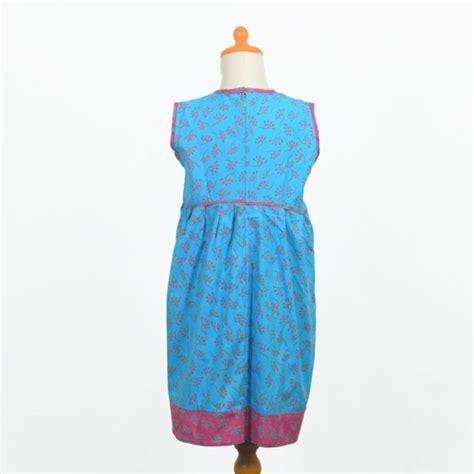 Dress Anak Tanpa Lengan Frozen 2 dress anak tanpa lengan biru