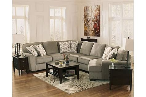 ashley furniture patola park sectional the patola park 4 piece sectional from ashley furniture
