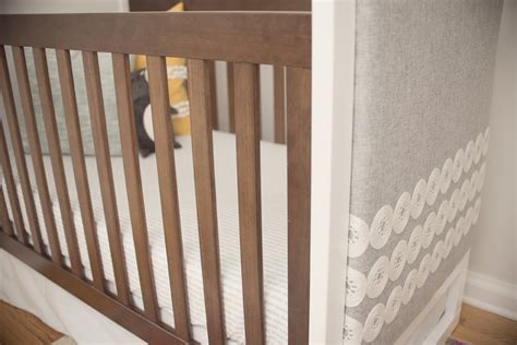 Diy Mini Crib by Diy Upholstered Crib Project Nursery
