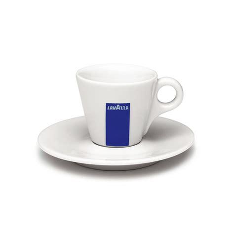 Lavazza Espresso Cup and Saucer Set   Lavazza USA