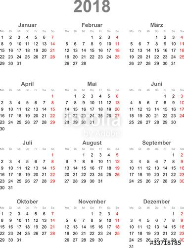 Kalender 2018 Indonesia Vector Quot Kalender 2018 Quot Stock Image And Royalty Free Vector Files