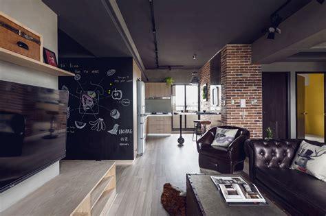 apartment theme dise 241 o departamento dos dormitorios planos construye hogar
