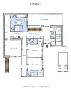 modern floor plans floor plan blueprint groundfloor of the nilsson villa