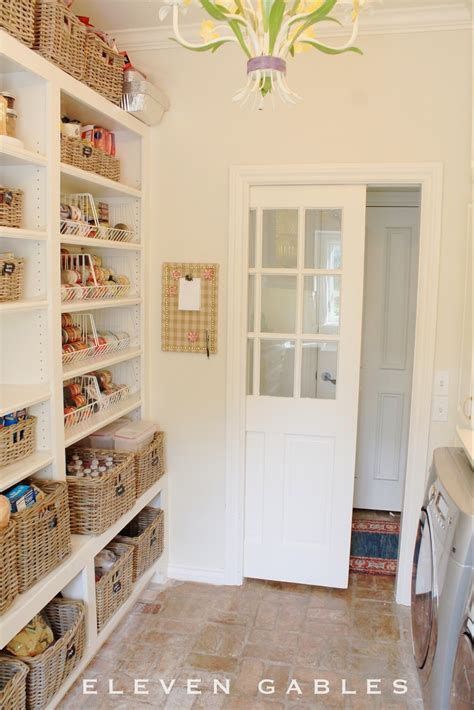 awesome laundry room pantry combination  homestead