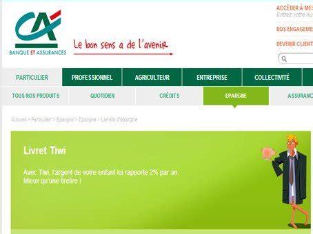 Plafond Livret A Credit Agricole by Cr 233 Dit Agricole Livret Tiwi Les Livrets D 233 Pargne