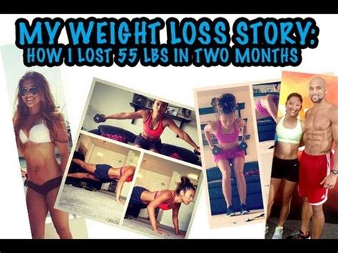 weight loss 2 my weight loss story how i lost 55 lbs in two months