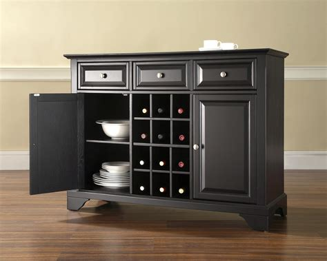 Wine Buffet Cabinet crosley lafayette buffet server sideboard cabinet with