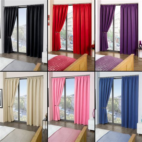 luxury blackout curtains luxury thermal blackout curtains black cream pink blue