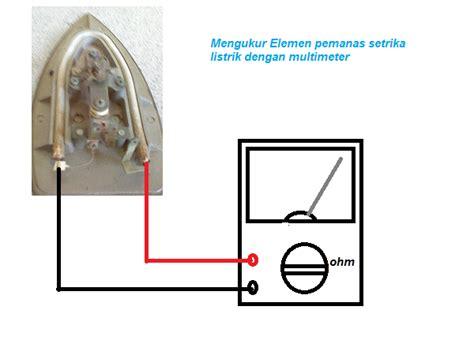Setrika Listrik Merk National cara memperbaiki setrika listrik yang rusak masputz