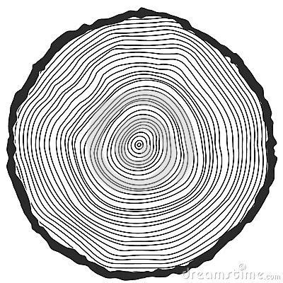 tree ring coloring page drawn ring tree ring pencil and in color drawn ring tree