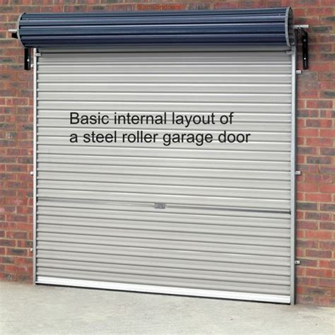 garage shutter doors gliderol roller shutter garage doors