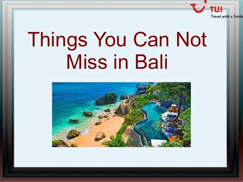 Things You Cannot Ask On A Application Things You Can Not Miss In Bali