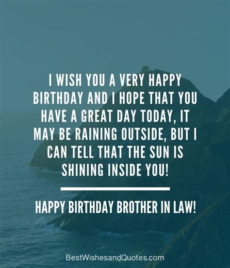 Happy Birthday To Someone Who Away Quotes Happy Birthday Brother In Law Surprise And Say Happy