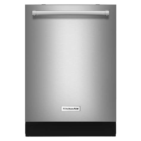 Kitchenaid Stainless Dishwasher by Kitchenaid Built In Stainless Dishwasher Kdtm404ess