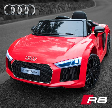 Ride On Audi R8 by Audi R8 Licensed Kids Ride On Car 12v Twin Motor Battery