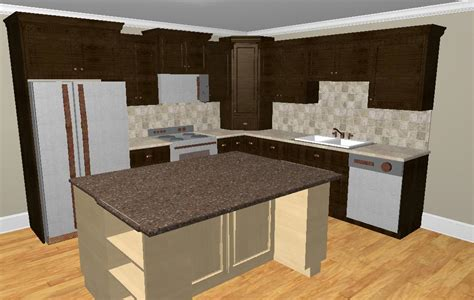 Kitchen Island Cabinet Base by Whether To Place A Refrigerator In The Corner