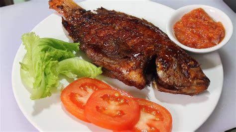 Teflon Untuk Bakar Ikan resep ikan panggang kecap teflon doovi