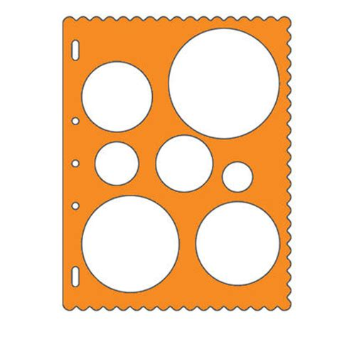 Fiskars Shape Templates fiskars shape templates circles debbi designs