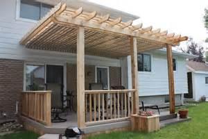 Pergola Deck Plans by Pergola Diy Deck Plans