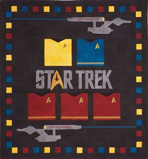 Trek Quilt by 22 Best Images About Trek Quilting On Free Pattern Quilt And Spock