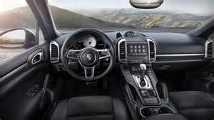 Porsche Cayenne Interior Porsche Cayenne Platinum Edition Announced Performancedrive