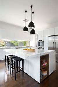 Contemporary Pendant Lights For Kitchen Island by 37 Multifunctional Kitchen Islands With Seating Cabinets