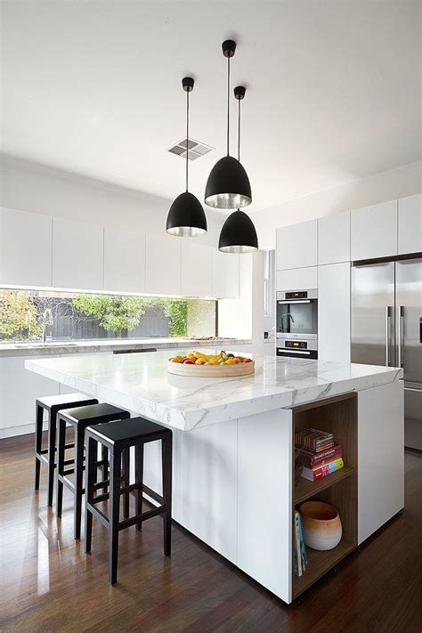 contemporary island kitchen 25 best ideas about modern kitchen island on pinterest