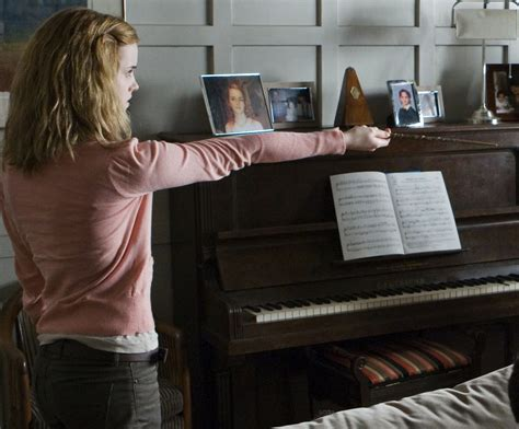 hermiones room piano harry potter wiki wikia