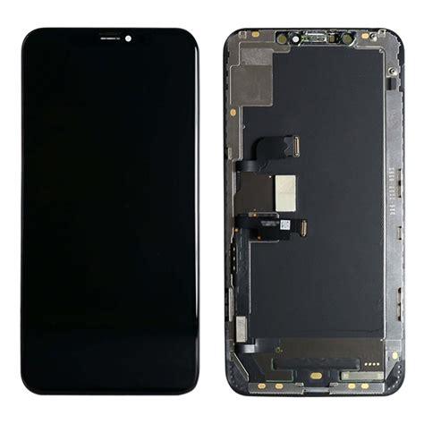 iphone xs max lcd display schwarz original qualit 228 t