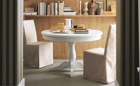 tavolo tondo allungabile tavolo rotondo allungabile arredamento in legno