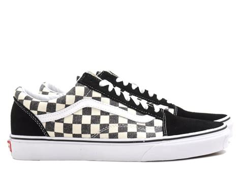 Sepatu Vans Skool Chekerboard Blackwhite Like Original vans skool checkerboard black espresso novoid plus