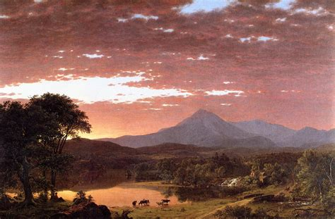 painting montana mount ktaadn painting afrederic edwin church paintings