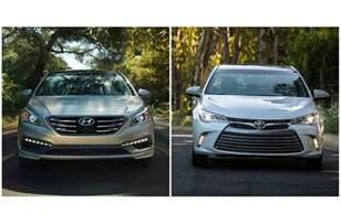 Best Car Deals Hull 2017 Hyundai Sonata Vs 2017 Toyota Camry U S News
