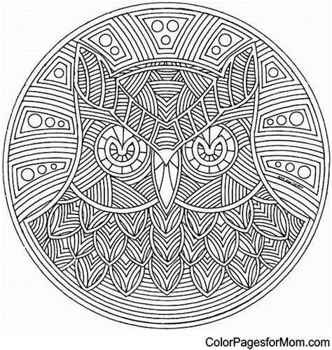 difficult mandala coloring pages printable mandala coloring pages advanced level printable free
