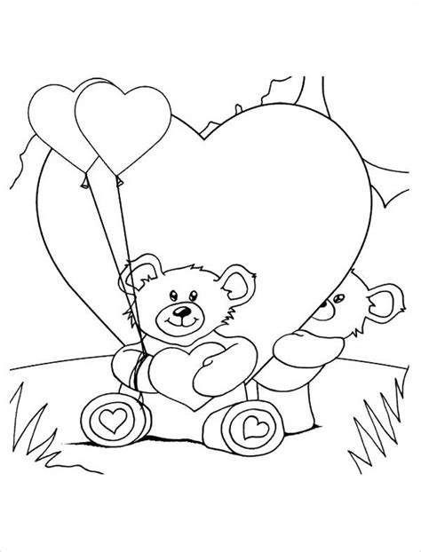 teddy bear with rose coloring page teddy bear with rose coloring page alltoys for