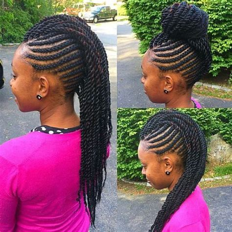 images of kids hair braiding in a mohalk 17 best ideas about crochet braids for kids on pinterest