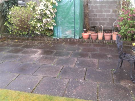 Cleaning Bird Patio by Patio Cleaning Johnstone Thistle Garden Services