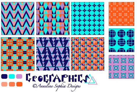 geography pattern words geographic designs anneline sophia designs
