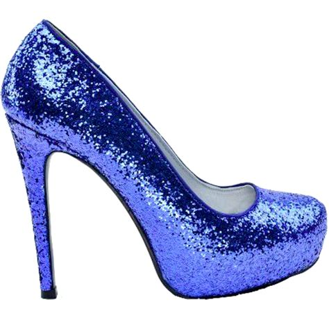 blue high heels for prom s sparkly royal blue glitter high low heels wedding